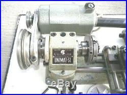 UNIMAT DB-200 MINI LATHE ORIGINAL MADE IN AUSTRIA (black badge)