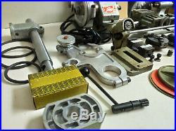 UNIMAT SL DB200 Gunsmith Watchmaker Jeweler Miniature Maker Lathe & Many EXTRAS