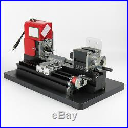 USA Easy Use Mini Metal Lathe Machine Saw Combined Tool DIY Wood 20000rpm/min