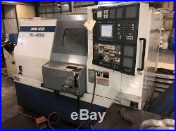 USED MORI SEIKI SL-250B/500 CNC LATHE Fanuc 10 Chuck Tool Presetter Chip Tail