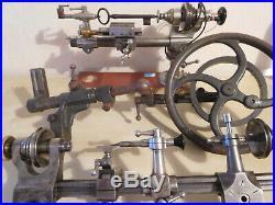 Uhrmacher. Lorch. Drehbank. Drehstuhl 8 MM Und 6mm. Watchmakers Lathe