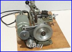 Unimat Edelstaal, DB-200 Lathe/Milling Tool with original box, Many accessories