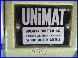 Unimat Model Makers Mini Lathe Model Sl1000