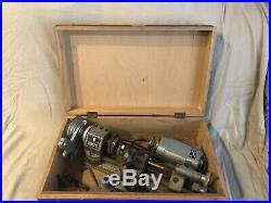 Unimat-SL DB200 Lathe, Original Box and Tooling. Broken Belt