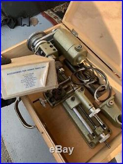 Unimat-SL DB200 Lathe, Original Box and Tooling. NO RESERVE