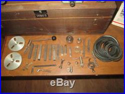 Unimat SL Model DB 200 Mini Lathe kit with accessories, manual and original Box