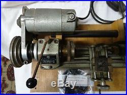 Unimat SL Model DB200 Jeweler/Metal Lathe Tool Used Working Watchmaker