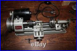 Unimat Watchmakers, or Jewelers Lathe Model DB-200 Very Good Condition