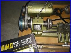 Unimat lathe SL 1000 And Accessories