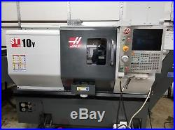 Used 2015 Haas ST-10 Y Live Tool CNC Turning Center Lathe Y Axis Tailstock Rigid