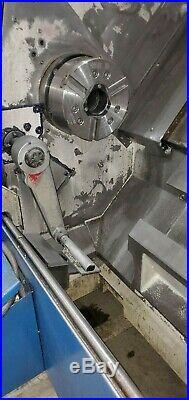 Used Daewoo Puma 250-LB Long Bed CNC Turning Center Lathe Fanuc Tool Doosan 1999