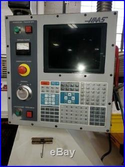 Used Haas Mini Lathe CNC Turning Center 5C Collet Gang Tool Brushless 2001