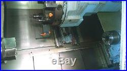 Used Kia Skt-15lms Cnc Lathe 2003 Fanuc Live Tooling Sub Spindle 6 Chuck Clean