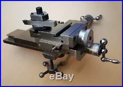 Used Levin lathe cross slide watchmakers jewelers derbyshire boley compound