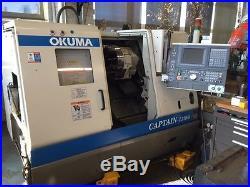 Used Okuma Captain L370M CNC Live Tool Turning Center Lathe OSP E100 8 Chuck 03