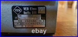 VEB ELMO Watchmaker Lathe PRÄZIMA tour horloger précision 8 mm excellent état