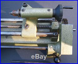 Vintage Edelstaal Unimat Sl1000 Auto-feed Bench Lathe Made In Austria
