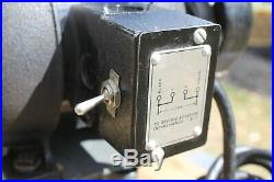 Vintage 1950's Atlas Tool Post Grinder 1/4 hp. 3,450 rpm. Lathe Attachment #647