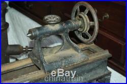 Vintage Antique Cast Iron Legs 54 4'6 Bench Wood Carpenters Lathe