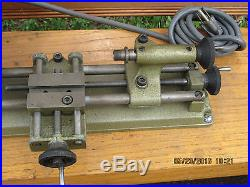 Vintage Austrian MadeUnimat Jewlers Watch Maker GunSmith LatheCiSUPERCLEAN