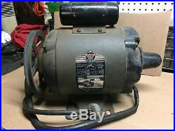 Vintage Delta Lathe Saw Sander Jointer Motor 3/4 HP 1,725 RPM 115 V Dual Shaft