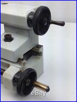 Vintage EMCO Unimat 3 Mini Jewelers Watchmakers Metal Lathe