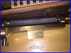 Vintage G Boley Watchmaker Watch Maker Makers Screw Head Polisher Tool Kit