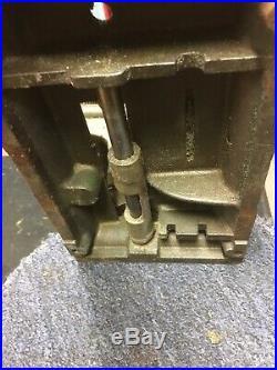 Vintage Lathe Milling Cutting Machine Engineers Tool