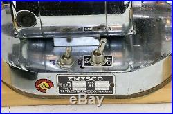 Vintage Peerless Marshall # 2 Watchmaker Lathe With Emesco Motor & Foot Pedal