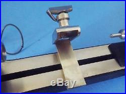 Vintage Pennant 8mm Watchmakers Lathe With K & D Speed Control Reversible Motor