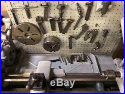Vintage South Bend 9 Lathe With Tooling & Bench 3C Collet Closer Set