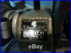 Vintage UNIMAT SL DB 200 Watchmaker Jeweler Gunsmith Lathe