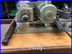 Vintage UNIMAT SL DB 200 Watchmaker Jeweler Gunsmith Lathe AUSTRIA