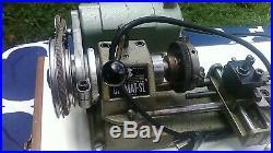 Vintage Unimat SL DB 200 Mini Lathe Made in Austria With Numerous Accessories