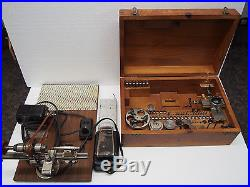 Vintage and Rare G Boley Watchmakers 8mm lathe