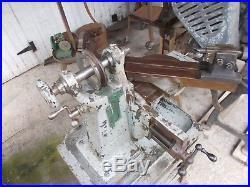 Vintage milling machine, Sloan & chace bench top miller, vintage lathe, tooling