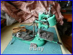 Vintage vertical drill Watchmaker's Jewelers Milling Lathe Dixi S. A. Collets