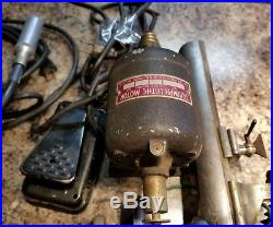 Vintage watchmakers lathe with extras