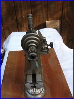 WATCH MAKERS BENCH LATHE 8 1/2 STARK 1872 pat. REPAIR TOOL