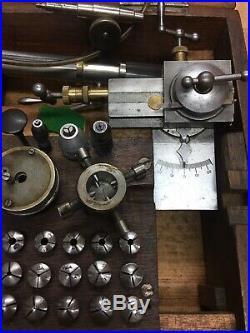 WATCHMAKERS LATHE 8mm British BTW Make