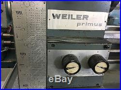 WEILER PRIMUS 9 x 17 TOOL ROOM LATHE
