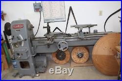 Wadkin pattern makers, gap bed wood turning lathe