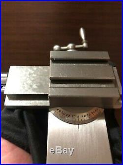Watchmaker 8mm lathe STAR cross slide also fit BERGEON, LORCH
