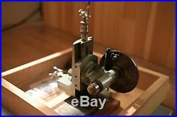 Watchmaker Vertical Milling Attachment Cross Slide With Plate Boley F1