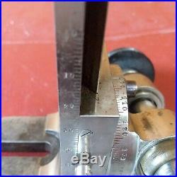 Watchmaker lathe MILLING attachment head 8mm Wolf Jahn watch clock maker 8 mm