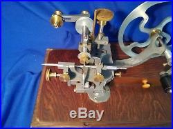 Watchmaker's Rounding Up Tool, Gear Wheel Cutter Lathe Tool
