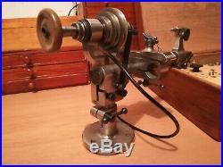 Watchmaker's lathe BOLEY 8MM