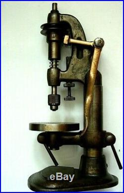 Watchmaker's petite perceuse Horloger Lathe Comtoise Tour Drill Perlage Tools