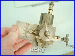 Watchmakers 8mm Lathe Cross slide Compound slide WITH D on the top watch lathe