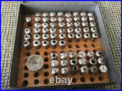 Watchmakers Lathe Collets 8mm